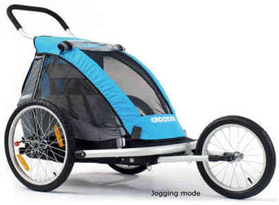 Croozer Kid Bike Trailer – An Everyday 3-in-1 Carrier for One or ...